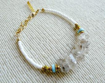 Boho Beaded Bracelet- Calypso