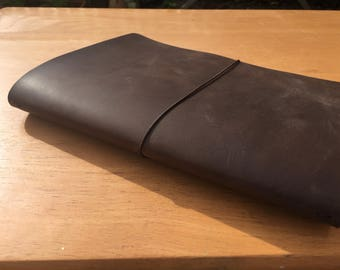A5 Traveler's Notebook / Fauxdori Suitable for Journal, Notebook or Bulletjournal - Genuine Leather