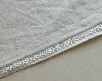 1Yard+ 10mm White Crochet  Cotton Lace Trim- S09