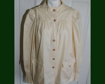 Vintage 1960's designer Gerald McCann Woman's Cotton Smock Tunic