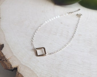 Two Tone Elegant Minimalist Bracelet
