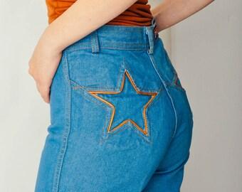 Vintage Brittania Star Jeans