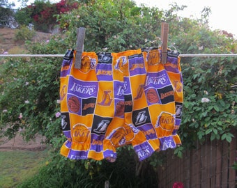 Ready now!  Baby Bloomers 12 - 18 mth Lakers NBA Cotton