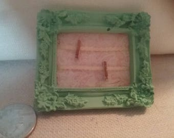 Miniature vintage frame