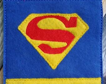 Super Hero Goodie Bag * Felt Bag * Gift Bag