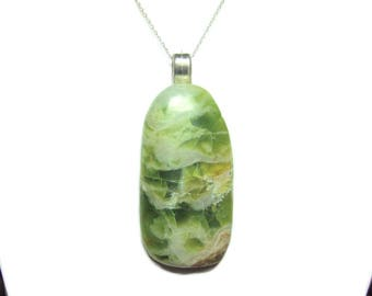 Rosella Opalite pendant with chain