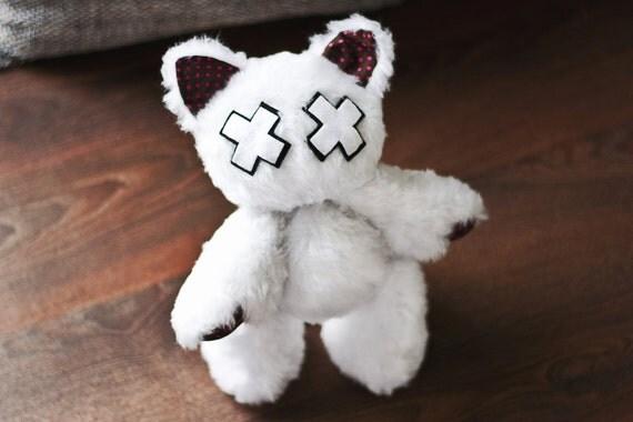 """Emo-Kitty """"Casey"""" // Cat Plush Toy"""