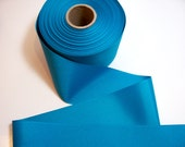 Blue Ribbon,  Blue Teal Grosgrain Ribbon 3 inches wide x 3 Yards, Offray Sapphire Ribbon
