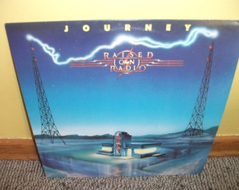 Journey Raised On Radio Record album NEAR MINT condition
