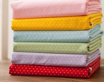 4426 - Mini Polka Dot Cotton Fabric - 62 Inch (Width) x 1/2 Yard (Length)