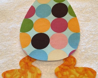 Choice of Iron-On Cotton Fabric Easter Appliques