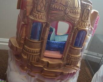 Vintage Shera Princess Of Power Motu Crystal Castle W/ Accesories + Swift Wind Horse