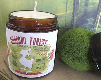 Chocobo Forest Final Fantasy inspired 4 0z soy candle