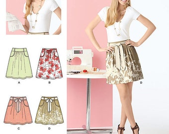 Skirt Pattern ~ Simplicity 2226 ~ Size 6-18 ~ Easy to Sew Skirt Pattern ~ Learn to Sew