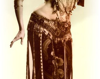 Famous Belly Dancer's Adornment