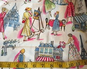 One Yard of Michael Miller Paris Fabric