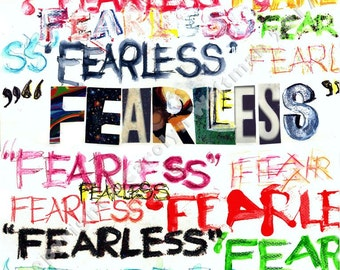 Fearless - Notecards, Prints