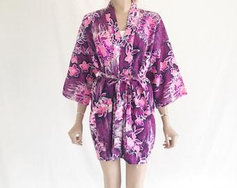 Vintage 60's Hawaiian Caftan/ Robe