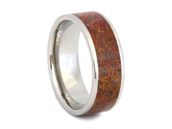 dinosaur bone wedding ring items similar to dinosaur bone ring titanium wedding band 3550