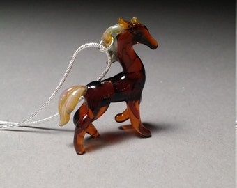 Stallion Horse necklace western style // Equestrian art // cowboy jewelry // Cowgirl pendant