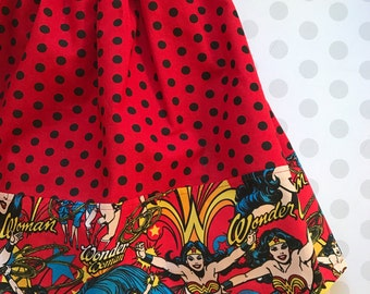 Girls Wonder Woman Skirt  4-5T