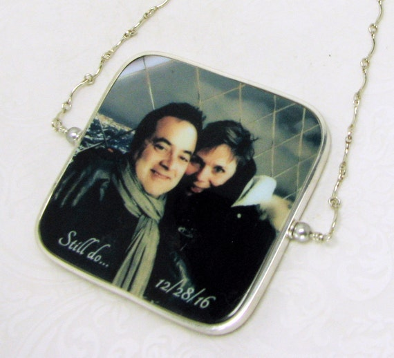 Happy 25th Anniversary Photo Ornament - FO3FlRa