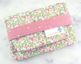 Sanitary Pad Holder, Period Bag, Vintage Floral, Shabby, Peach Flower Period Kit, Pads Pouch, Sanitary Napkins Bag, Period Pads, Tampon Case