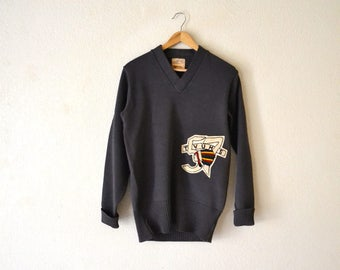 1950's Indian Mascot Wool Sweater