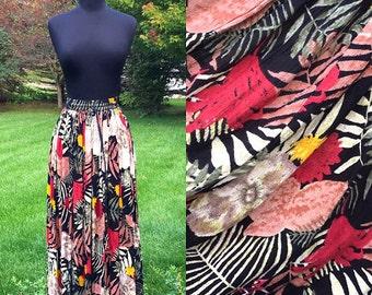 Vintage 70s Free Spirit Bohemian Skirt