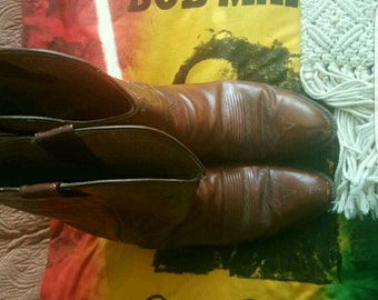 Vintage Cowboy girl Boots