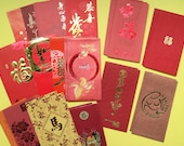 50 Assorted Chinese Red Packets