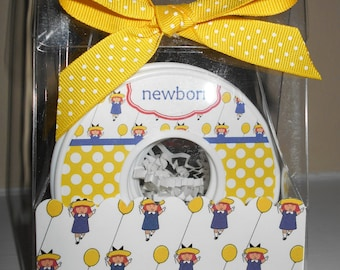 Baby Closet Dividers-set of 9-MADELINE THEMED-in Acrylic Gift Box