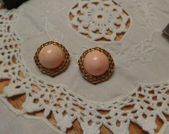 Vintage Italian clip-on earrings