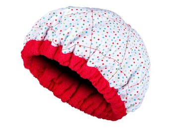 FOR KIDS! Microwavable Deep Condition Cap - SPRINKLES Reversible Little Hot Head