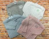 Infant Cardigan, Monogrammed Baby Sweater, Baby Shower Gift, New Baby Keepsake