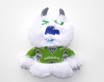 Whoosh the Monster Seattle Sounders Fan plush