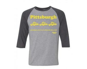 Pittsburgh Raglan Long Sleeve tee