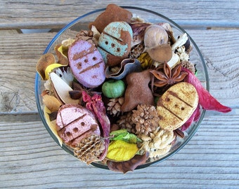 Country Easter Basket Potpourri, Rustic, Room Scent, Easter Decor, Eggs, Chocolate Rabbits, Spring Decor, Refresher Oil Included
