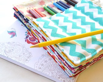 Colored Pencil Holders, Party Favors, Set of 20, 12 Colored Pencils Included, Wedding Favors, Art Party, Student Gifts, Bar Mitzvah Favor