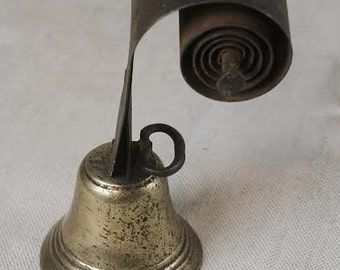 Antique French Servants Bell, SALE, Get 25% OFF, Use coupon code 25percentoffwow at checkout!