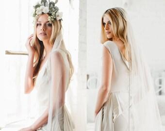 GOLD Crystal Juliet Cap Veil Wedding Veil, Vintage Veil, Gold Rhinestone Edge Veil, 1920s Bridal Accessories, Gatsby Art Deco Veil, #1209
