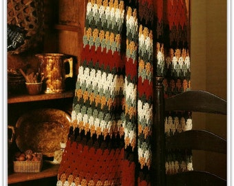 Crochet Afghan Pattern - Shades Of The Southwest - PDF 40121266