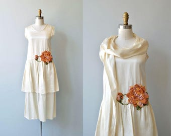 Early Oeuvre dress | antique 1920s dress | vintage 20s dress