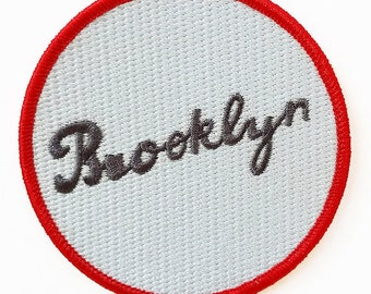 Brooklyn Embroidered Patch