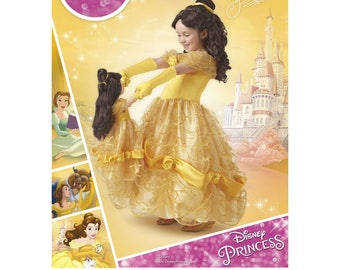 BELLE COSTUME PATTERN / Beauty and the Beast / For Girl and American Girl Doll / Disney Princess