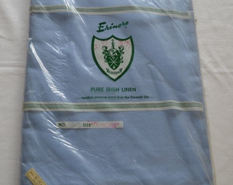 Vintage ERINORE Table Cloth IRISH LINEN new in package large size