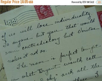 ONSALE One Stunning 1920s  Love Letter