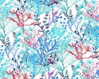 Liberty Fabric Tana Lawn One Yard Reef B