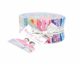 SUMMER SALE - Rainy Day - Jelly Roll - by Me & My Sister for Moda Fabrics