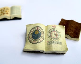 Miniature Open Book --- Astronomy